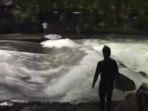 Amazing Munichs Surfers Stunts