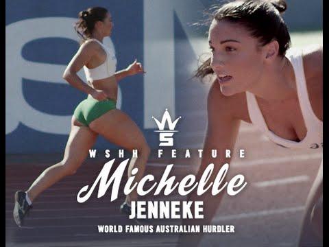 Australian Hurdler Michelle Jenneke's Workout