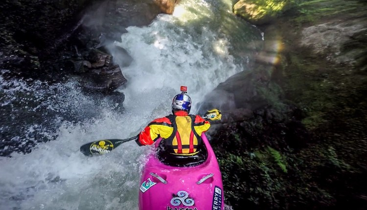 Chasing Waterfalls With A Pro Kayaker