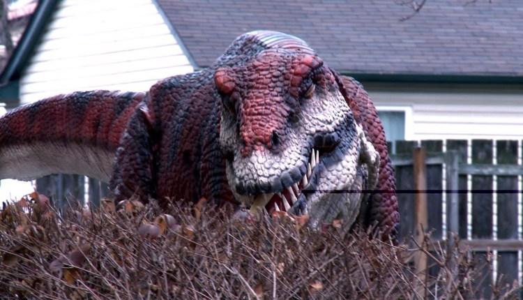 Crazy Jurassic Park Prank