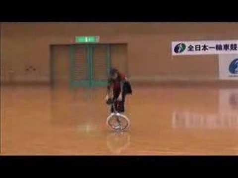 Extreme Unicycle Dance