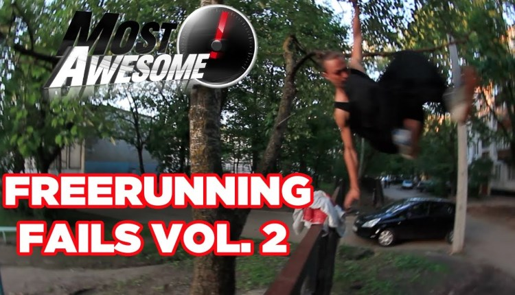 Five Of The Most Awesome Freerunning Fails