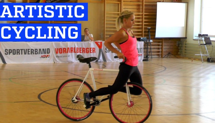 Gymnastic Cycling Is A Thing And Its Amazing