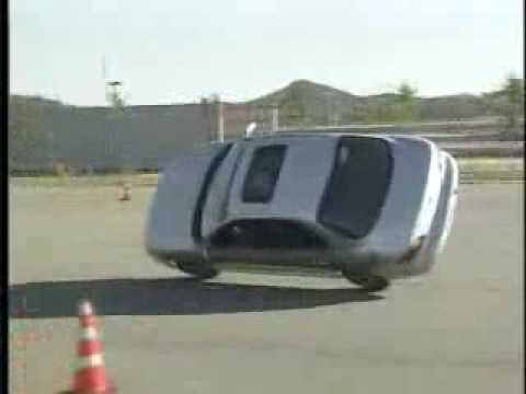Hyundai Avante Car Stunt