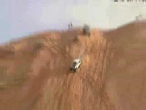 Jeep Hill Contest in the sand