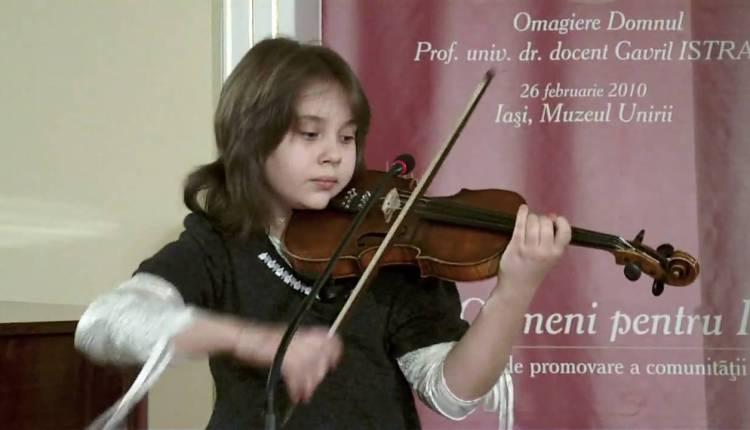 Malina Ciobanu Has An Amazing Violin Talent