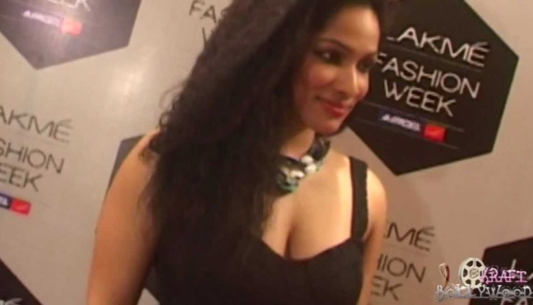 Masaba Gupta At The Lakme Fashion Week