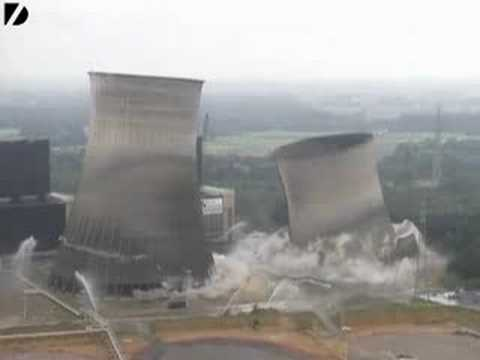 Massive Tower Demolition in Germany