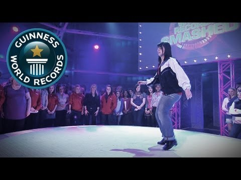 Most Amazing Tap Dancing World Record