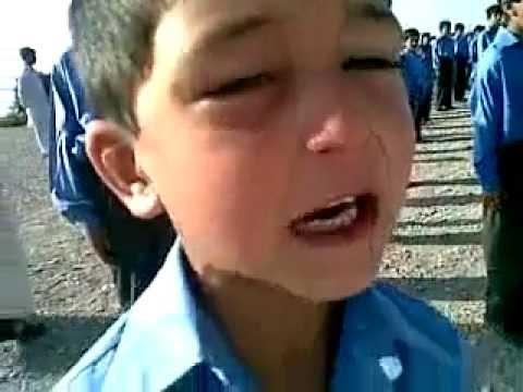 Pakistani School Boy and National Anthem
