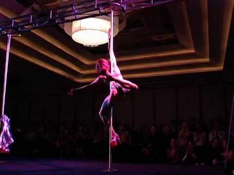 Winner of Miss Pole Dance Australia