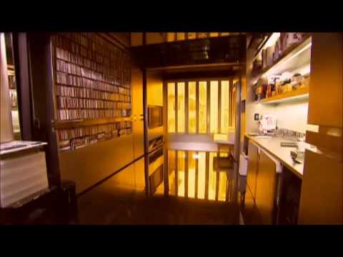 A Tiny Apartment Transforms Into 24 Rooms