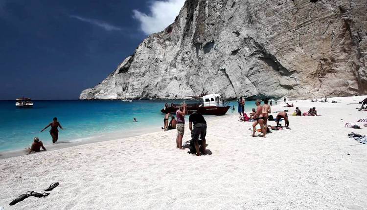 Beautiful Magical Navagio Beach