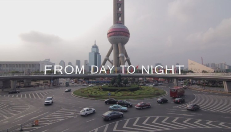 From Day To Night In China