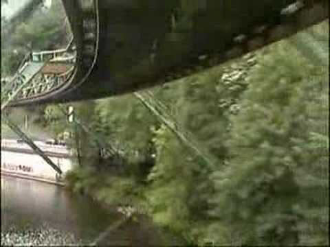 Hanging Trains in Germany