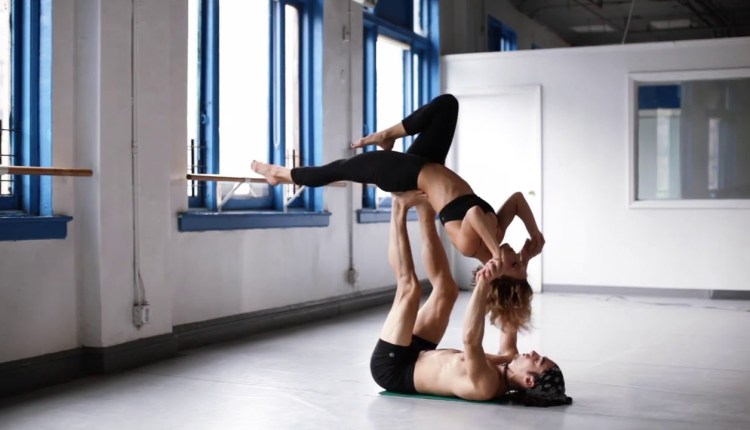 Learning to Fly: AcroYoga