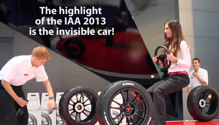 The Invisible Car At IAA 2013