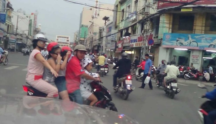 Transportation In Vietnam Style