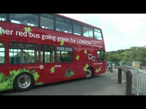 Volvo Launched Hybrid Double-Decker Bus