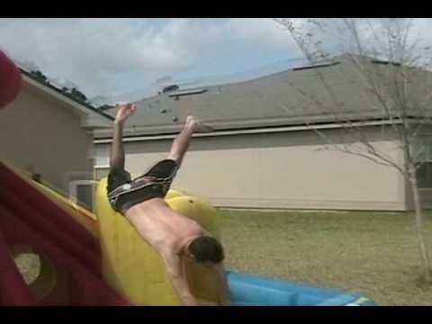 When Inflatable Water Slide Fun Goes Bad