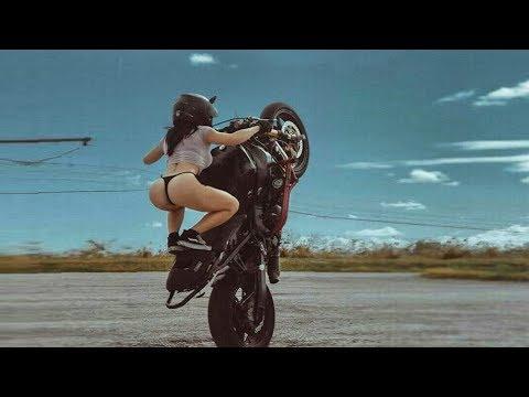 Coolest Bike Stunts By Women