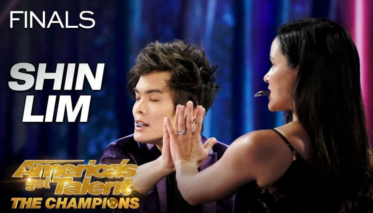 Shin Lim Performs Epic Card Magic With Lovely Partner