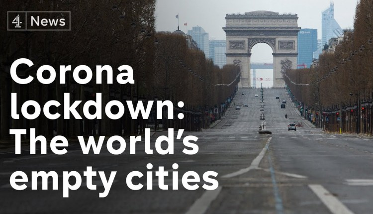 Famous Cities Before And After Coronavirus Lockdown
