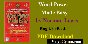 Word Power Made Easy by Norman Lewis English eBook PDF Download