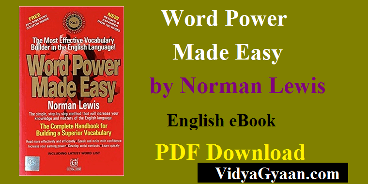Word power made easy pdf by norman lewis free download.