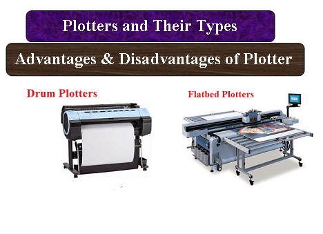 Plotters and Their Types | Advantages & Disadvantages of Plotter