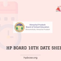 HP Board 10th Time Table 2021