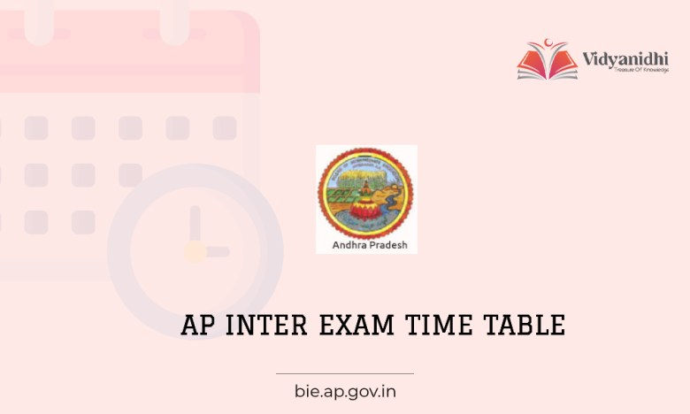 AP inter 1st & 2nd year Time Table - Exam Date 2022 (bie.ap.gov.in)