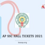 Andhra Pradesh Board SSC hall ticket 2021