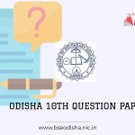 Odisha Board 10th Model question paper 2021