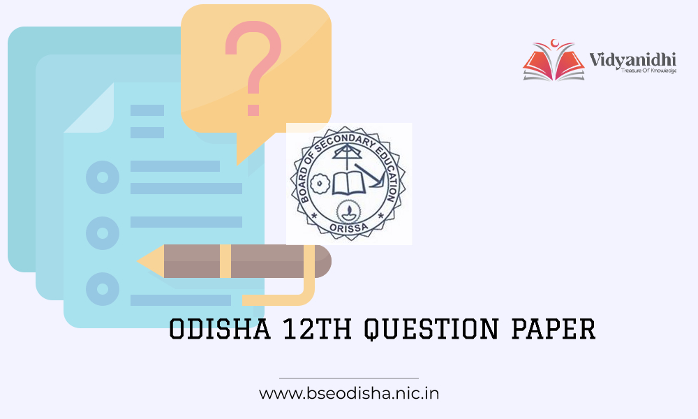 Odisha 12th question papers 2021