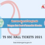 Telangana Board SSC Hall Ticket 2021