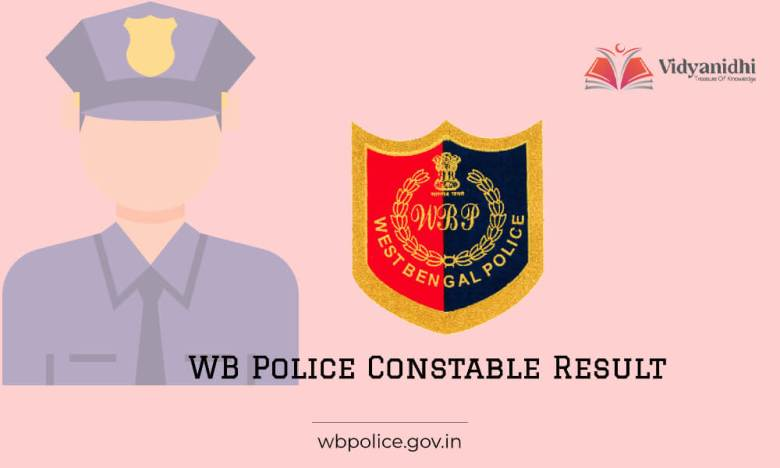 WB Police Constable Result 2021 - merit list release date