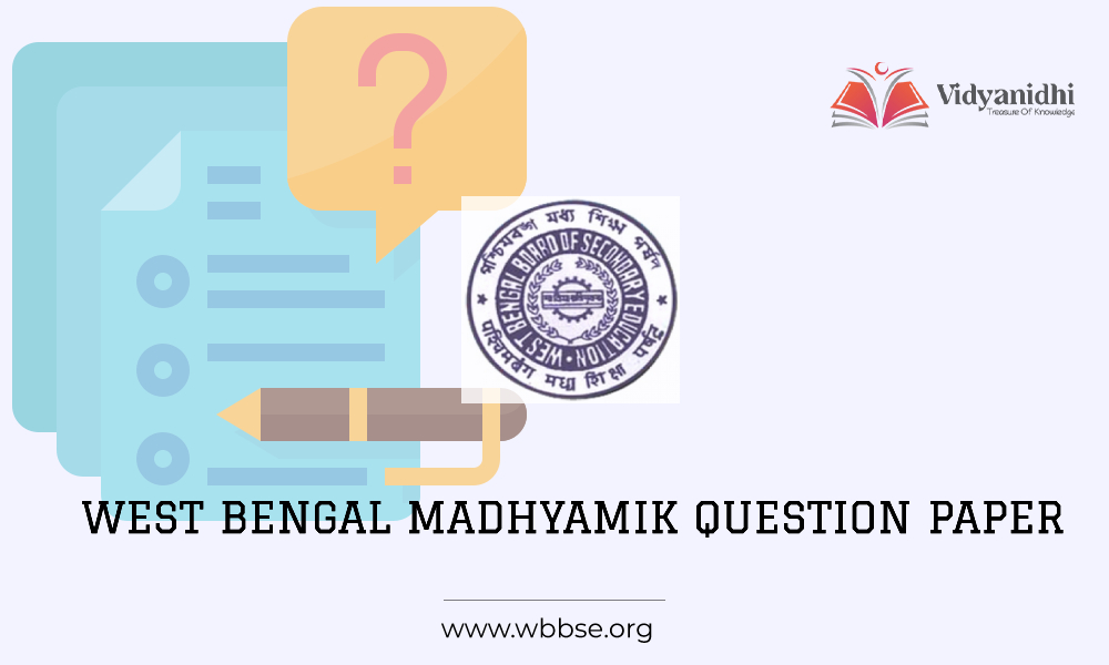 West Bengal Board Madhyamik Model question paper 2021