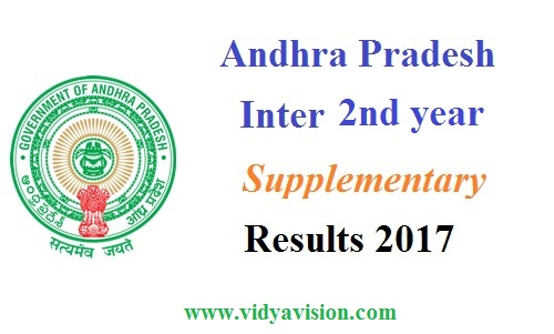 AP Inter 2nd year Supply Results 2017