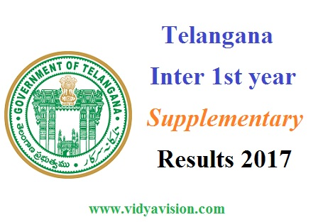 TS Inter 1st year Supply Results 2017