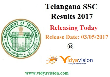 TS SSC Results 2017 Releasing Today