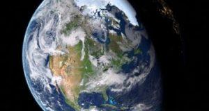 Earth rotation in hindi