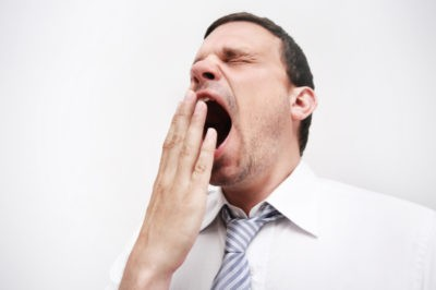 yawning in hindi