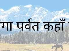 नंगा पर्वत कहाँ हैं - nanga parbat in hindi