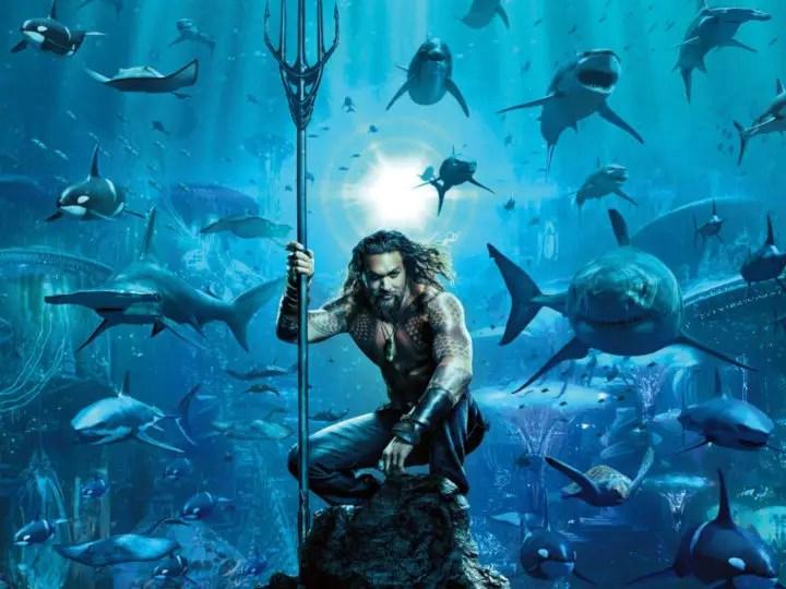 Aquaman- best superhero movies for kids