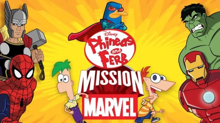 Phineas & Ferb: Mission Marvel- Best Superhero movie for kids