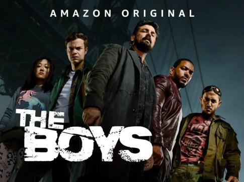 The Boys- Best superhero shows on amazon prime