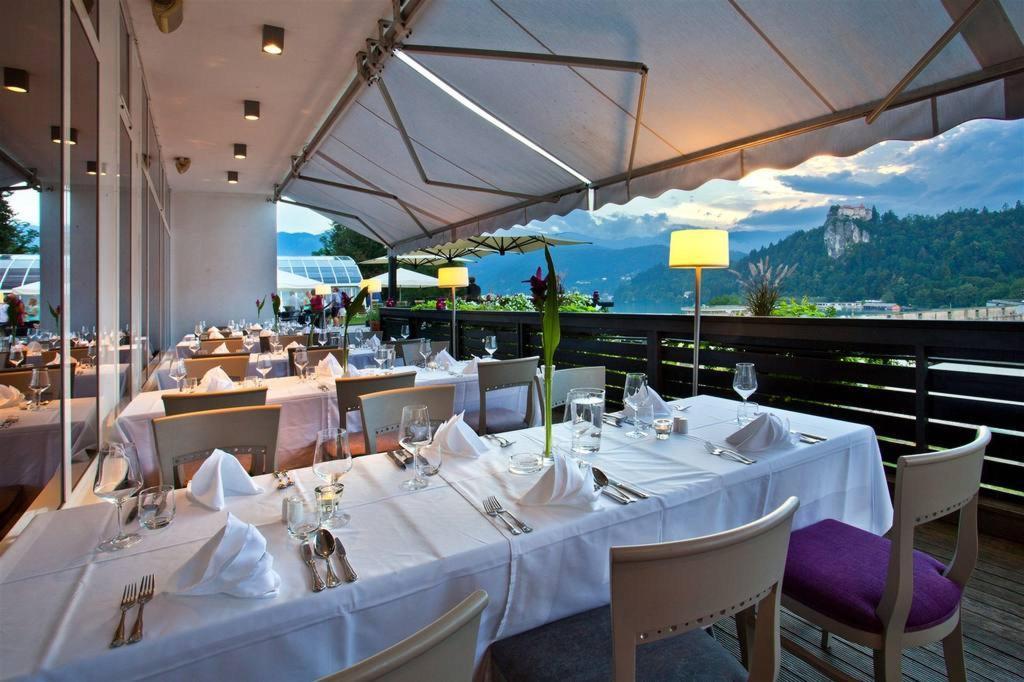 Hotel Kompas Lago di Bled : Ristorante