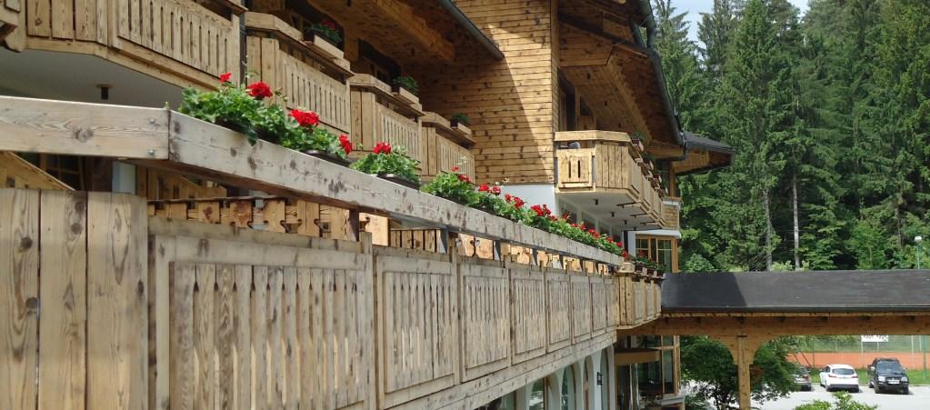 Hotel Ribno außerhalb des Bleder Sees