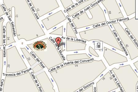 Mapa de nuestro local